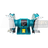 Электроточило 150 мм Eurotec BG 101, точило электрическое, точильный станок наждачный, электронаждак