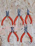 Набор мини-плоскогубцев 5шт Jinfeng, фото 2