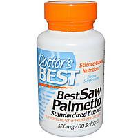 Экстракт Со Пальметто, Doctor's Best, 320 мг, 60 капсул