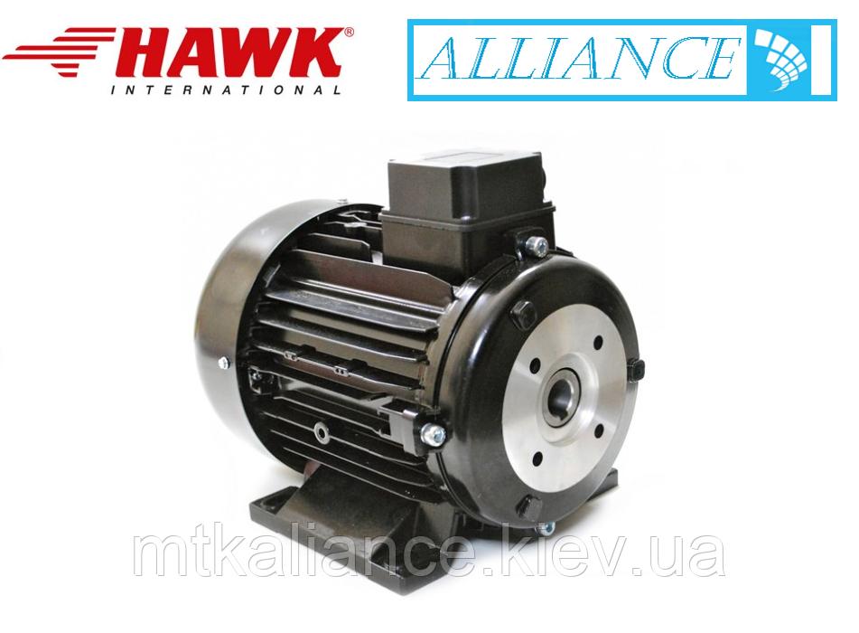 Электродвигатель Samec 5,5 кВт, 3 фазы (полый вал) 1450 об/мин для мойки высокого давления