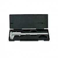 Штангенциркуль, 150 мм, цена деления 0,02 мм, металлический, с глубиномером // MTX 3163159