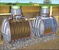 Септик Graf Carat S, для 8-10 проживающих, сток до 3 м³ в сутки