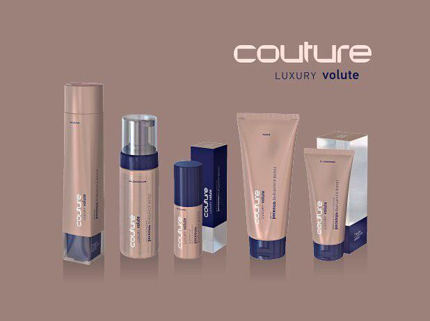 Набор ухода для локонов Luxury Volute ESTEL HAUTE COUTURE, cостоит из 5 продуктов .