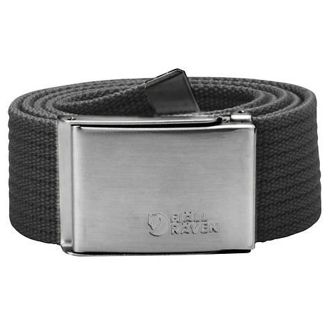 Ремень Fjallraven Canvas Belt Dark Grey, фото 2