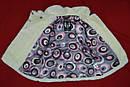 Детская зимняя шуба Fur кремовая для девочек 1-5 лет (PETİTO Club, Турция), фото 6