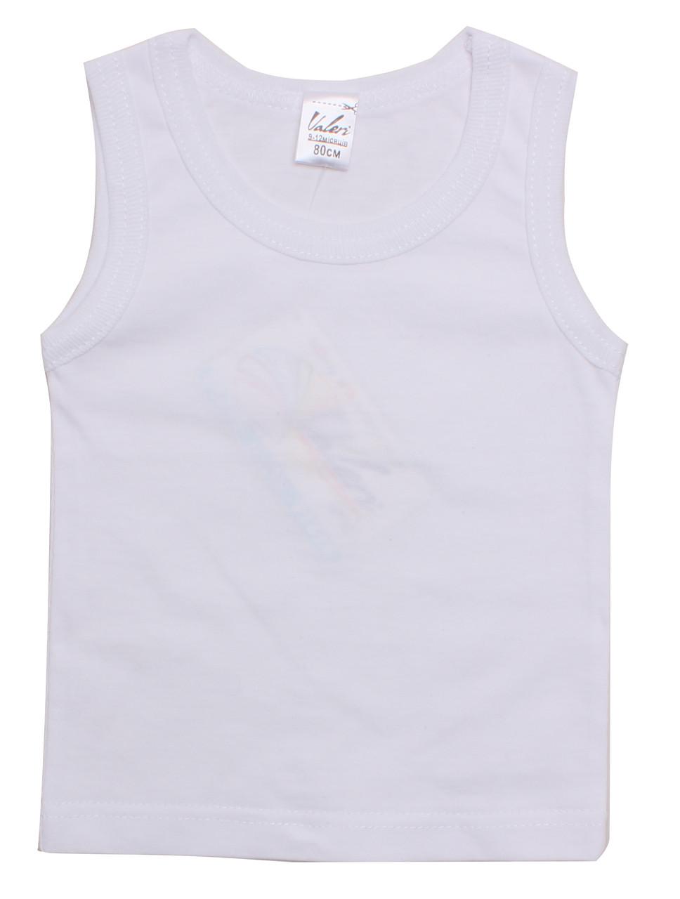 Майка   0052-99-028-002 80 см Белый