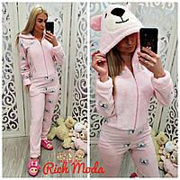 Пижама женская, кигуруми мишка! Хит сезона!!! Турция розовая