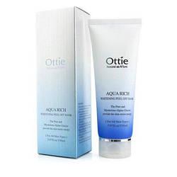 Ottie Отбеливающая Маска-Пленка Aqua Rich Whitening Peel Off Mask Pack 150 ml