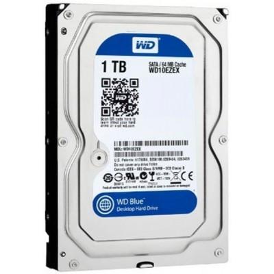 "Жесткий диск Western Digital Blue 3.5"" 1TB 7200rpm 64MB WD10EZEX 3.5 SATA III"