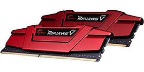 Оперативная память DDR4 16GB (2x8GB) 2666 MHz  G.Skill Ripjaws V (F4-2666C15D-16GVR)