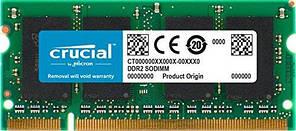 Оперативна пам'ять для ноутбука SoDIMM DDR2 2GB 667 MHz CRUCIAL by Micron (CT25664AC667)