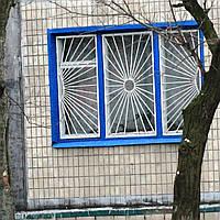 Установка решеток на окна «Солнышко» артикул 3104