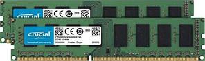 Оперативна пам'ять Crucial 8 GB (2x4GB) DDR 3L 1866 MHz (CT2K51264BD186DJ)