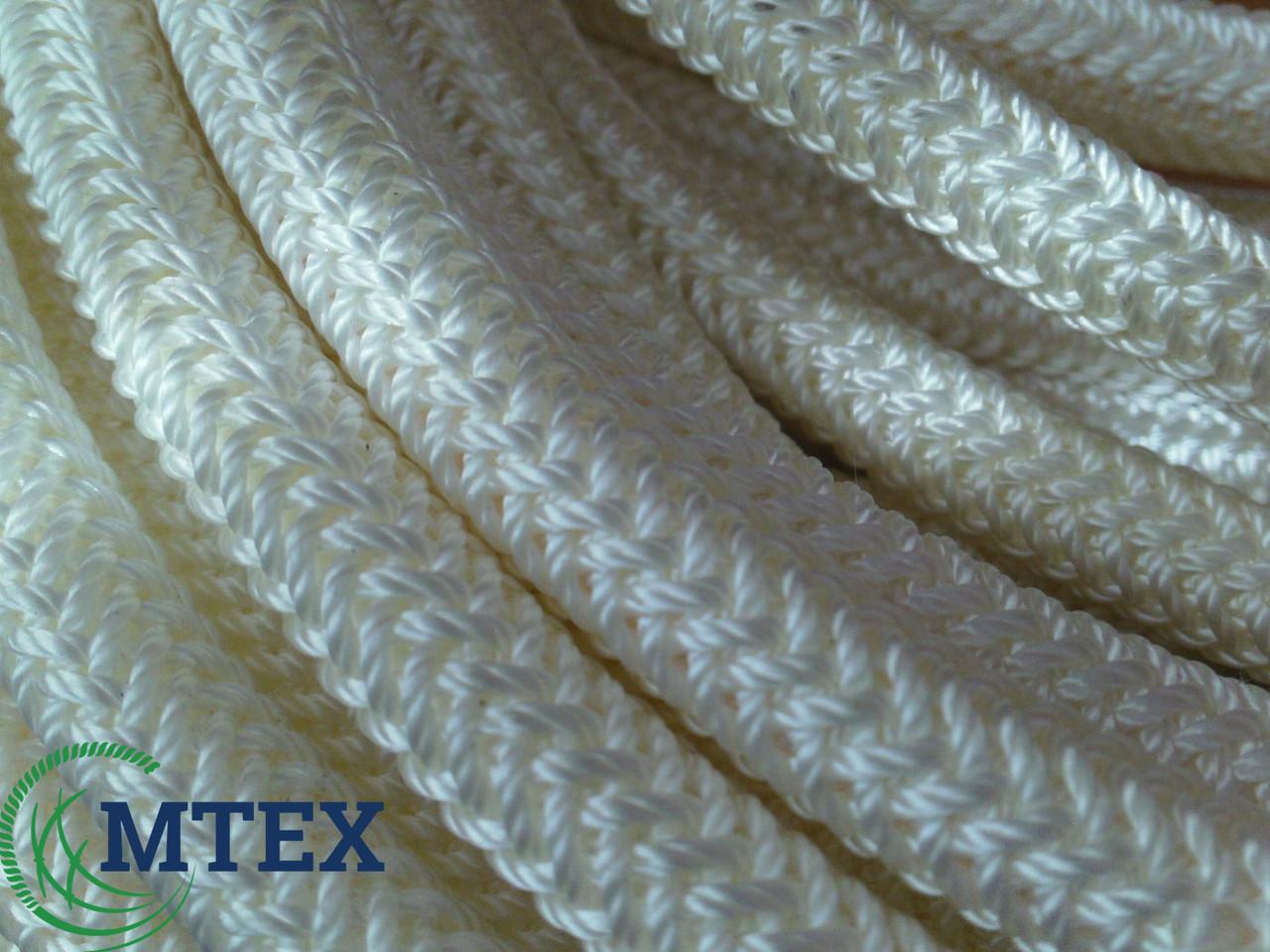 Шнур капроновий фал плетений Ø12мм. 20 метрів