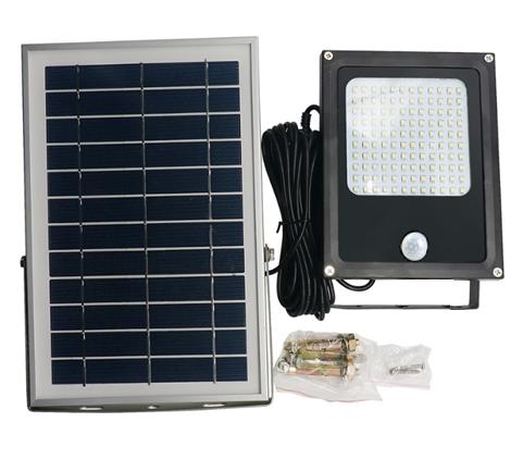 Уличный светильник на солнечной батарее c датчиком движения 120 LED