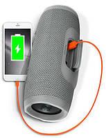 Портативная Bluetooth колонка JBL Charge 3 - Серая Реплика, фото 8