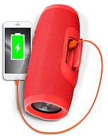 Портативная Bluetooth колонка JBL Charge 3 - Красная Реплика, фото 9