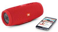 Портативная Bluetooth колонка JBL Charge 3 - Красная Реплика, фото 2