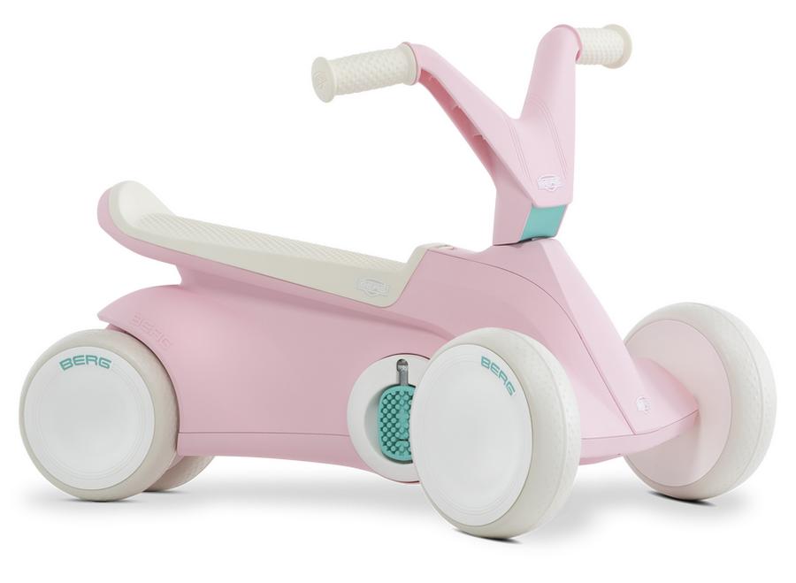 Веломобиль BERG GO Ride On на педалях Розовый 2 в 1 Нидерланды (24.50.01.00)