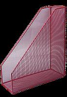 Лоток для паперу вертикальний BUROMAX, червоний, 80x230x300мм (BM.6260-05)
