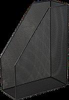 Лоток для паперу вертикальний BUROMAX, чорний, 80x245x355мм (BM.6260-01)
