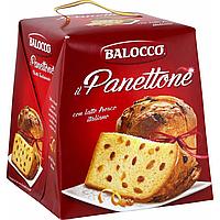 Панеттон пасхальный классический с изюмом и цукатами Balocco Panettone, 1 кг.