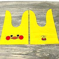 """Пакеты  оригинальные полиэтиленовые  для подарков и мелочей """"УТОЧКА  """" 10 шт  23х13 № 235"""