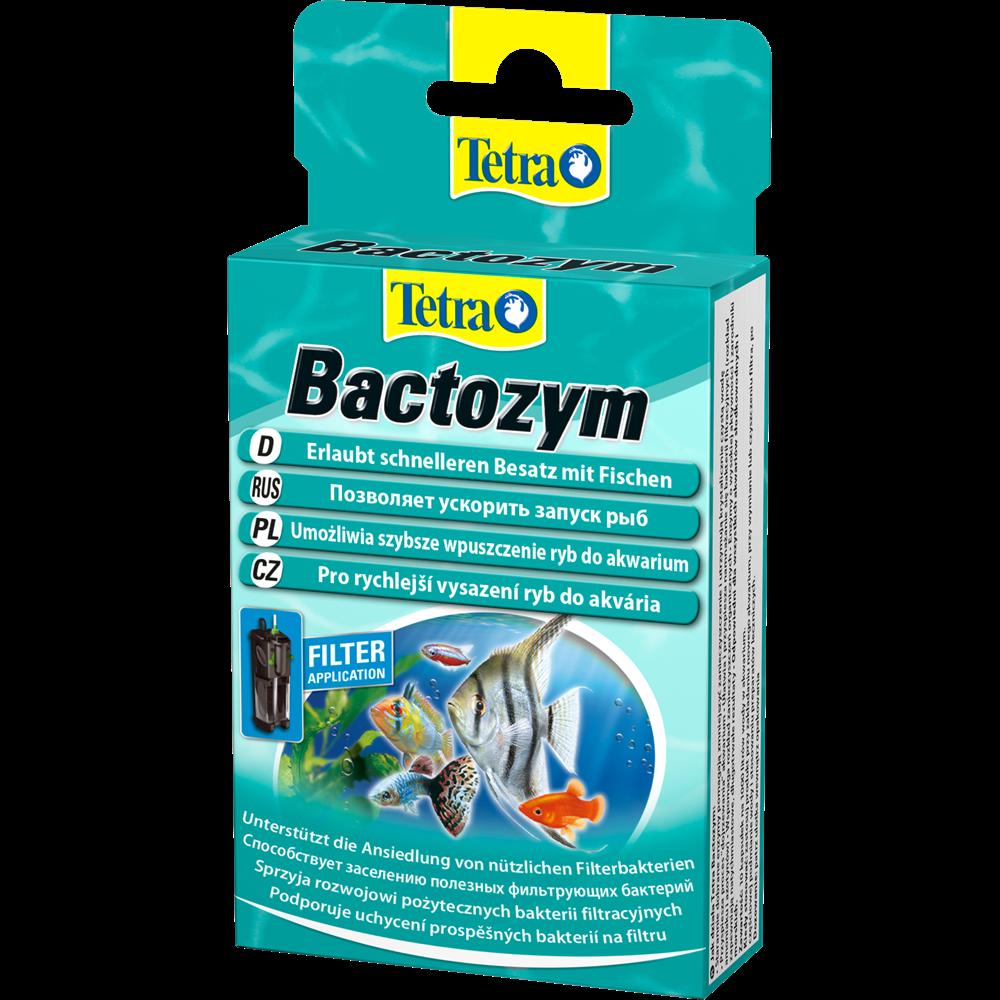Tetra Bactozym кондиционер с культурой бактерий 10 капсул