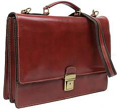 Портфель деловой из натуральной кожи TOMSKOR, 81574