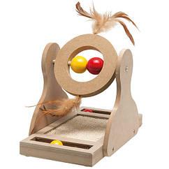 Игрушка Karlie-Flamingo Tumbler для кошек, дерево, 17х20х30 см