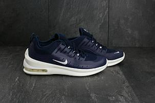 Мужские демисезонные кроссовки Nike Air Max сине-белые топ реплика, фото 2
