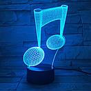 3D Светильник нота, фото 7