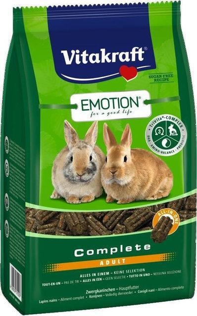 Корм Vitakraft Emotion Complete для кроликов, 1.5 кг