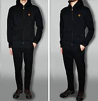 Трикотажний спортивний костюм дуже теплий з логотипом тканина Турція