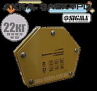 Магнитный держатель для сварки (22кг.) SIGMA