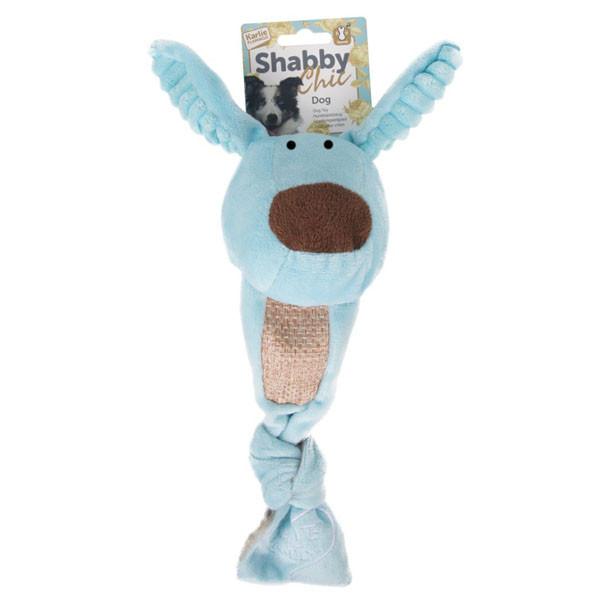 Игрушка Karlie-Flamingo Shabby Chic Dog для собак с пищалкой, 40х10 см