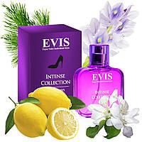 Духи парфюм для женщин Evis Intense Collection №3 50 мл свежий звонкий яркий аромат покоряет сильных мужчин