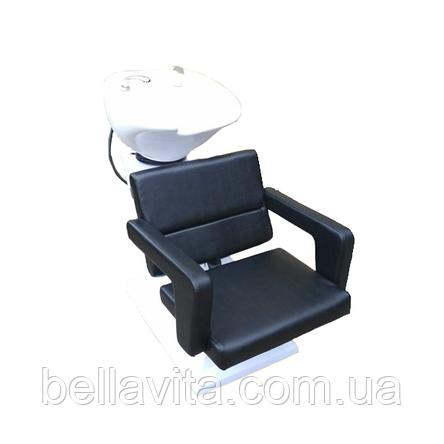 Мойка парикмахерская Light с креслом Фламинго, фото 2