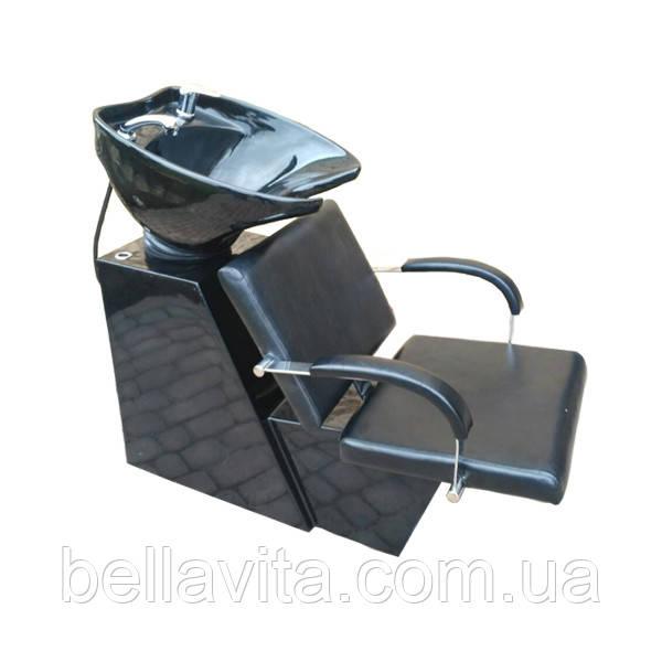 Мойка парикмахерская Dark с креслом Helio
