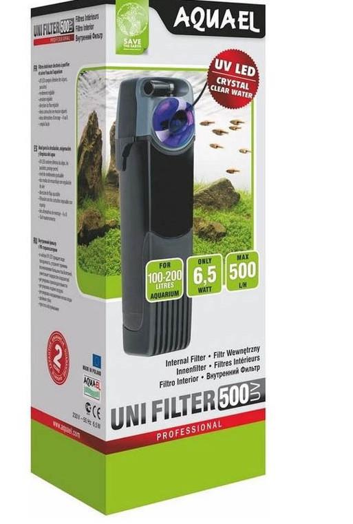 Внутренний фильтр Aquael UNIFILTER 500 UV для аквариума 100-200 л (107402)