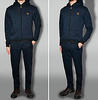 """Трикотажний спортивний костюм дуже теплий, колір """"темно-синій"""" тканина туреччина"""