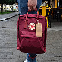 Рюкзак Kanken Fjallraven Classic  -  Бордовый Реплика, фото 5
