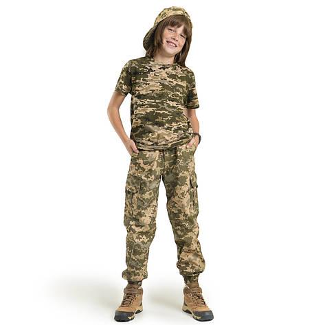 Детские брюки Скаут камуфляж Пиксель, фото 2
