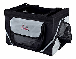 Сумка-переноска Trixie Front Box для велосипеда для кошек, 38х25х25 см