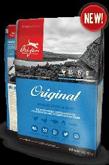 Сухой корм Orijen Original Dog 38/18 для взрослых собак всех пород с курицей и индейкой 17 кг