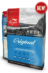 Сухой корм Orijen Original Dog 38/18 для взрослых собак всех пород с курицей и индейкой 6 кг