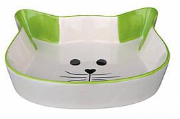 Миска Trixie Ceramic Bowl для кошек, керамика, 0.25 л