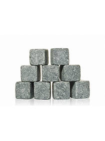 Камни для виски Kronos Whiskey Stones WS 9 штук sp1873, КОД: 103129