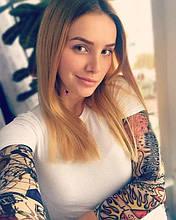 Экстримальный тату-рукав с эффектом татуажа ДРАКОН