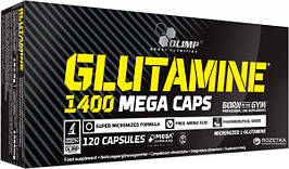 Глютамін Olimp Labs L-Glutamine 1400 mega caps 120 caps